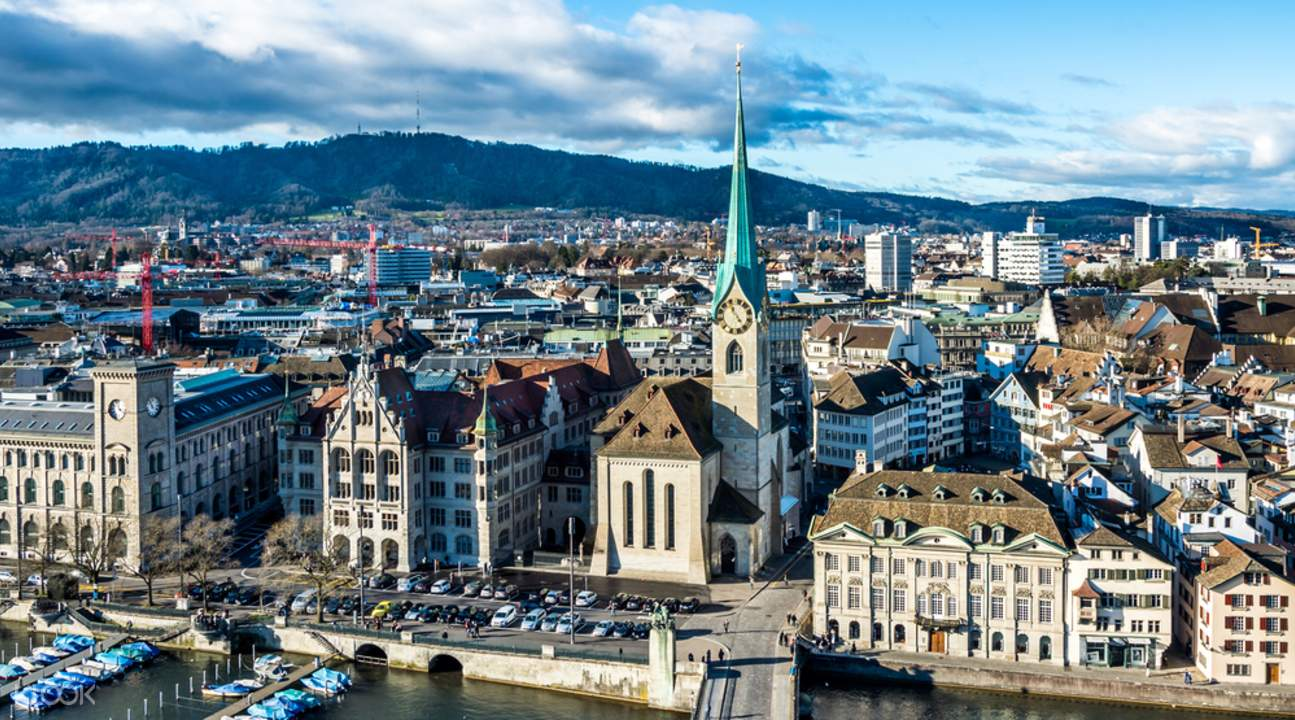rhine falls and zurich city day tour